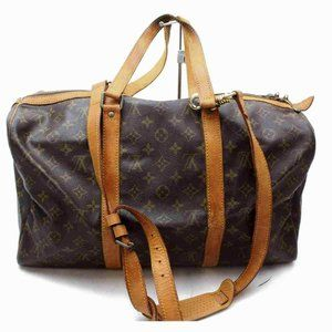 Auth Louis Vuitton Sac Souple 45 Travel #6445L27